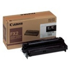 Cartridge Canon 1556A003, Type FX2, Fax L, Black, max yield 3 000 copies, ORIGINAL