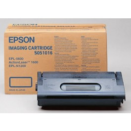 Cartridge Epson C13S051016, EPL5600, Black, max yield 6 000 copies, ORIGINAL
