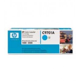 Cartridge HP C9701A, Type 01A, Color LaserJet 1500, Cyan, max yield 4 000 copies, ORIGINAL