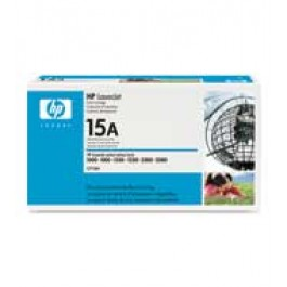 Cartridge HP C7115A, Type 15A, LaserJet 1000, Black, max yield 2 500 copies, ORIGINAL