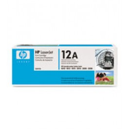 Cartridge HP Q2612A, Type 12A, LaserJet 1010, Black, max yield 2 000 copies, ORIGINAL
