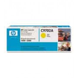 Cartridge HP C9702A, Type 02A, Color LaserJet 1500, Yellow, max yield 4 000 copies, ORIGINAL