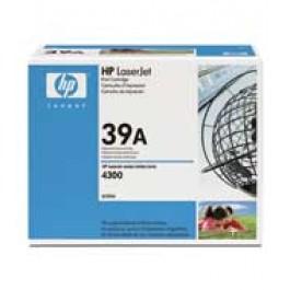 Cartridge HP Q1339A, Type 39A, LaserJet 4300, Black, max yield 18000 copies, ORIGINAL