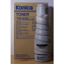 Toner Konica Minolta 012A, Type TN 101K, 7115F, Black, max yield 11 000 copies, 826 gr, ORIGINAL, obsolete/out of production - valid until stock limit
