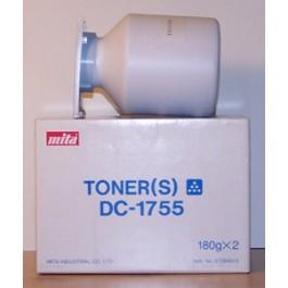 Toner Kyocera Mita 37084010, DC1755, Black, max yield 6000 copies, 360 gr, ORIGINAL, SUPER PRICE (valid until stock limit), damaged box/old box design