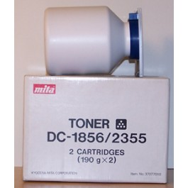 Toner Kyocera Mita 37077010, DC1856, Black, max yield 7 000 copies, 380 gr, ORIGINAL, old/retired
