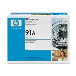 Cartridge HP C4191A, Type 91A, Color LaserJet 4500, Black, max yield 9000 copies, ORIGINAL