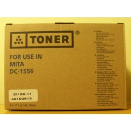 Toner Kyocera Mita 37075010, DC1556, Black, max yield 4000 copies, 222 gr, COMPATIBLE, SUPER PRICE (valid until stock limit), damaged box/old box design