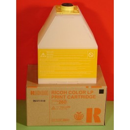 Cartridge Ricoh 888447, Type 260, Aficio CL7200, Yellow, max yield 10 000 copies, ORIGINAL, SUPER PRICE (valid until stock limit), damaged box/old box design