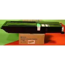 Cartridge Ricoh 885324, Type M2, Aficio 1224C, Cyan, max yield 17 000 copies, ORIGINAL, SUPER PRICE (valid until stock limit), damaged box/old box design