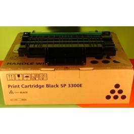 Cartridge Ricoh 406218, Type SP3300, Aficio SP3300D, Black, max yield 5000 copies, ORIGINAL, SUPER PRICE (valid until stock limit), damaged box/old box design