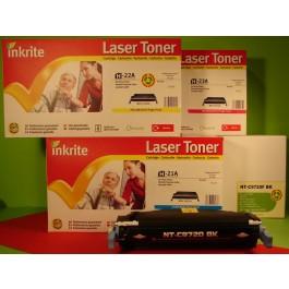 Cartridge HP C9721A, Color LaserJet 4600, C/M/Y, max yield 8000 copies, COMPATIBLE, SUPER PRICE (valid until stock limit), damaged box/old box design