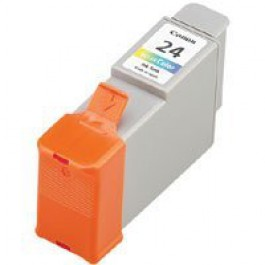 Ink Cartridge Canon 6882A002, Type BCI 24, S200, Color, max yield 170 copies, ORIGINAL, SUPER PRICE (valid until stock limit), damaged box/old box design