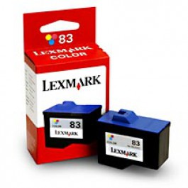 Ink Cartridge Lexmark 18L0042E, Type 83, CJZ55, Color, max yield 450 copies, ORIGINAL, SUPER PRICE (valid until stock limit), damaged box/old box design