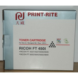 Toner Ricoh 889490, FT 4022, Black, max yield 17 000 copies, 830 gr, COMPATIBLE, obsolete/out of production - valid until stock limit