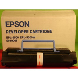 Cartridge Epson C13S050005, EPL5500, Black, max yield 3 000 copies, ORIGINAL, SUPER PRICE (valid until stock limit), damaged box/old box design