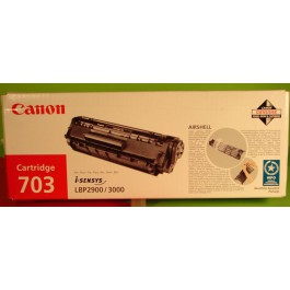 Cartridge Canon 7616A005AA, Type CRG703, LBP2900, Black, max yield 2 500 copies, ORIGINAL, GOOD PRICE