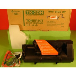 Cartridge Kyocera Mita Type TK20H, FS1700+, Black, max yield 20000 copies, ORIGINAL