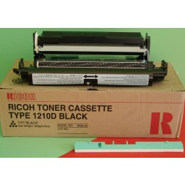Cartridge Ricoh 430438, Type 1210D, Aficio MFFX10, Black, max yield 4 800 copies, ORIGINAL, SUPER PRICE (valid until stock limit), damaged box/old box design