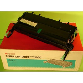 Cartridge Ricoh 400395, Type 2000, Aficio AP2000, Black, max yield 14 000 copies, ORIGINAL, obsolete/out of production - valid until stock limit