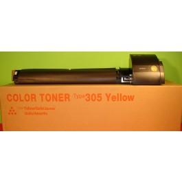 Toner Nashuatec CT306YLW, Type CT306, Aficio AP305, Yellow, max yield 17000 copies, ORIGINAL, SUPER PRICE (valid until stock limit), damaged box/old box design