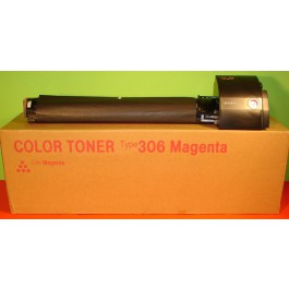 Toner Nashuatec CT306MGT, Type CT306, Aficio AP305, Magenta, max yield 17 000 copies, ORIGINAL, SUPER PRICE (valid until stock limit), damaged box/old box design