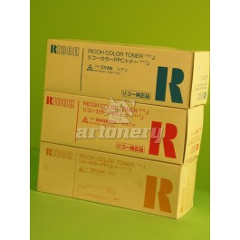 Toner Ricoh 887816, Type J, NC5006, Cyan, max yield 3500 copies, 340 gr, ORIGINAL, SUPER PRICE (valid until stock limit), damaged box/old box design