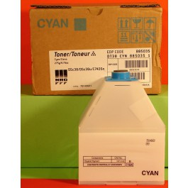 Cartridge Ricoh 888037, Type 105, Aficio AP3800C, Cyan, max yield 10 000 copies, ORIGINAL, SUPER PRICE (valid until stock limit), damaged box/old box design
