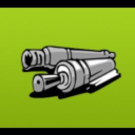 Upper fuser roller Canon FB4-6597-000, CLC1000, COMPATIBLE