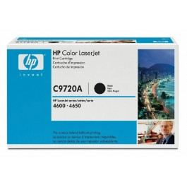 Cartridge HP C9720A, Type 20A, Color LaserJet 4600, Black, max yield 9 000 copies, ORIGINAL
