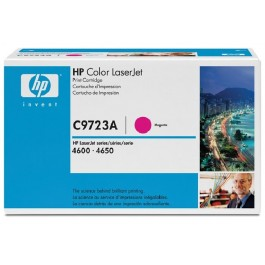Cartridge HP C9723A, Type 23A, Color LaserJet 4600, Magenta, max yield 8000 copies, ORIGINAL