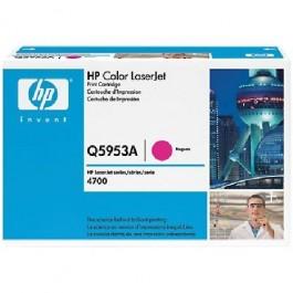 Cartridge HP Type Q5953A, Color LaserJet 4700, Magenta, max yield 10000 copies, ORIGINAL