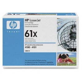 Cartridge HP Type C8061X, LaserJet 4100, Black, max yield 10000 copies, ORIGINAL, SUPER PRICE (valid until stock limit), damaged box/old box design